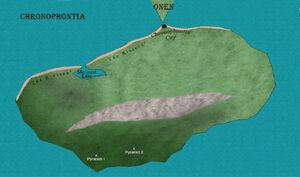 Chronophontia Island just off the coast of Eraia