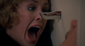 Childs-Play-1988-Catherine-Hicks-knife-through-door