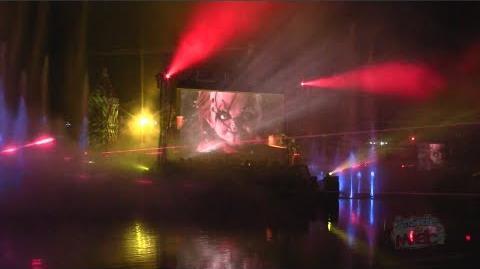Chucky lagoon show for Halloween Horror Nights 2012 at Universal Orlando