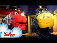 Roundhouse Song 🎶- Discover Chuggington- All Aboard - Chuggington - Disney Junior