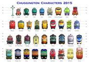 Chuggers Lineup 2015 A4 Sheet