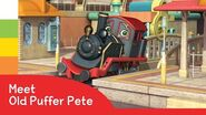 Chuggington - Spotlight on Old Puffer Pete