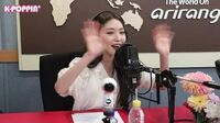 K-Poppin' 청하(CHUNG HA)'s Full Interview on Arirang Radio!