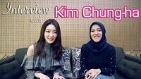Interview & Mini Dance Tutorial with the uber kind Kim Chung-ha (English With Indo Subs)