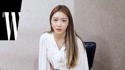 청하의 여름 피서법은? 청하의 60문 60답 by W Korea