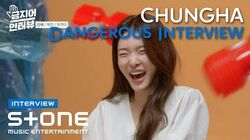 ENG SUB Stone INTERVIEW 청하 (CHUNG HA) Dangerous INTERVIEW 솔직히 지친다, newwav