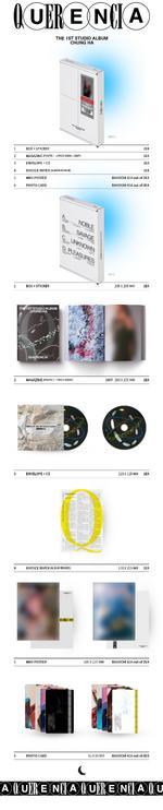 Querencia album packaging detail