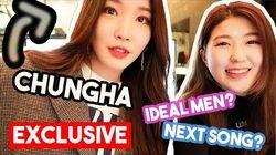 Interviewing K-POP Idol CHUNGHA from i.o.i 아이오아이 청하 영어 인터뷰 한국언니 Korean Unnie