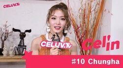Cel'in-Interview 10 청하(Chungha)
