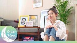 Dear. Fans CHUNG HA 청하 Solo Debut 3rd Year Anniversary Interview 솔로 데뷔 3주년 인터뷰