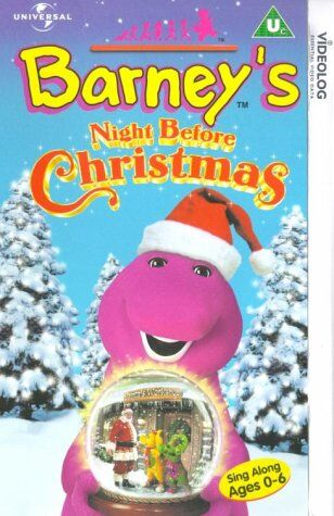 Barney Barney S Night Before Christmas Cic Video With Universal And Paramount Uk Wiki Fandom