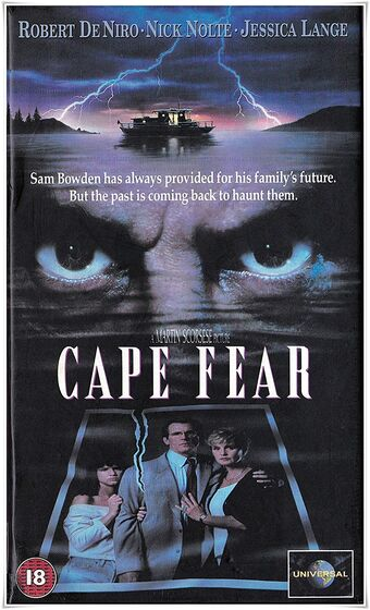 Cape Fear 1991 Film Cic Video With Universal And Paramount Uk Wiki Fandom