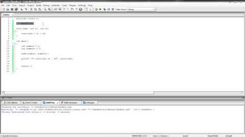 C 2 - Operadores, funções e tabela ASCII
