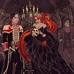 Fairytale - Evil Queen, Loves Perrault, Ghede Advisor