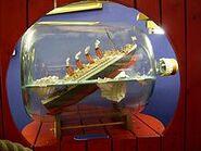 Buddelschiff Titanic