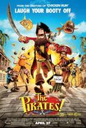 The pirates! - band of misfits poster