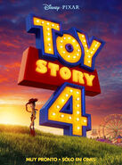 Toy Story 4 - teaser poster