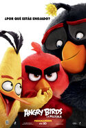 Angry Birds La pelicula poster