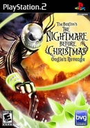 The Nightmare Before Christmas - Oogie's Revenge Coverart