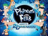 Phineas y Ferb atraves de la 2ª dimension