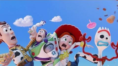 Toy Story 4 de Disney•Pixar Teaser Tráiler Oficial - Nubes HD