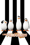 Cartel Pinguinos de Madagascar