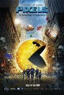 Pixels Theatrical Poster