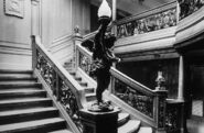 RMS Olympic aft grand staircase