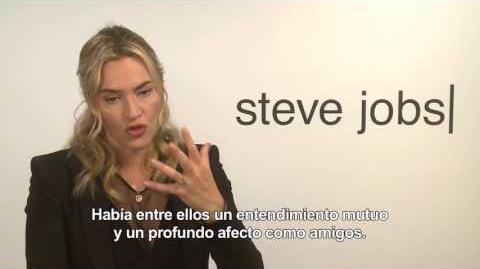 STEVE JOBS - Entrevista a Kate Winslet