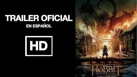 El Hobbit 3 Trailer Oficial español - La batalla de los cinco ejércitos - 2014