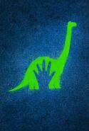 The Good Dinosaur Textless Poster