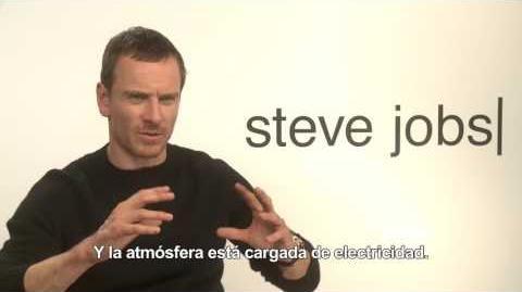 STEVE JOBS - Entrevista Michael Fassbender