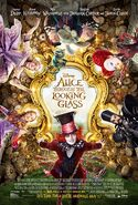 Alice Through the Looking Glass (2016 film) poster