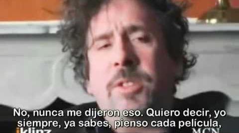 Entrevista al Director de Cine Tim Burton subtitulada al español