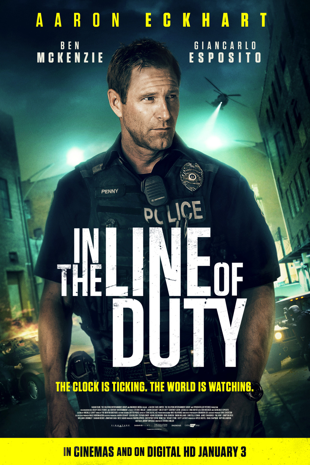 In the Line of Duty (2019)