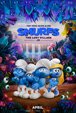 Smurfs: The Lost Village (2017; animated)