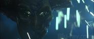 Alien Harvester Supreme Commander's demise-ID4 Independence Day 1996