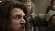 Jamie Sives mortally stabbed in Game of Thrones - The Wolf and the Lion