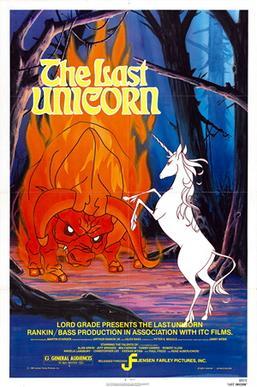 The Last Unicorn (1982; animated)