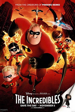 The Incredibles (2004; animated)