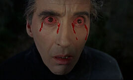 Dracula-has-risen-from-the-grave-christopher-lee-cries-blood