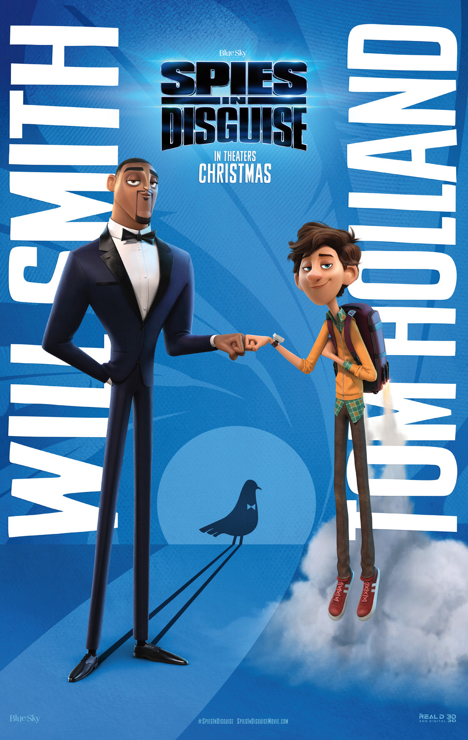 Spies in Disguise (2019; animated)