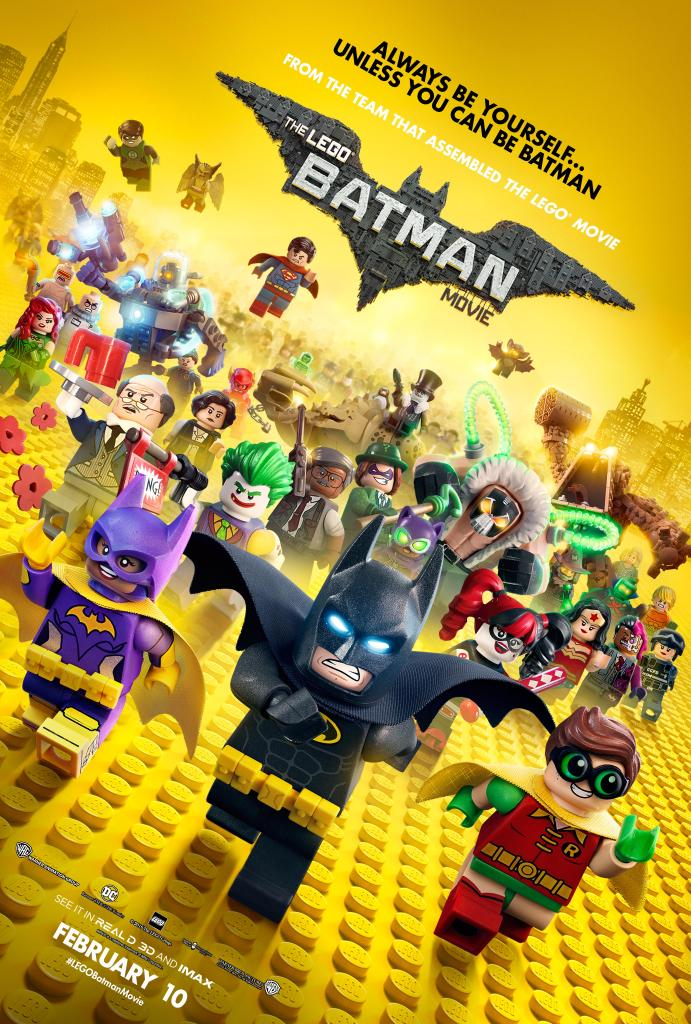 The Lego Batman Movie (2017; animated)