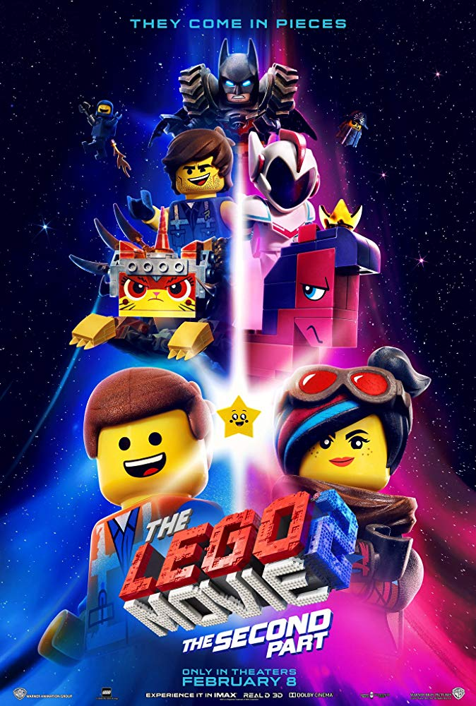 The Lego Movie 2: The Second Part (2019; animated)