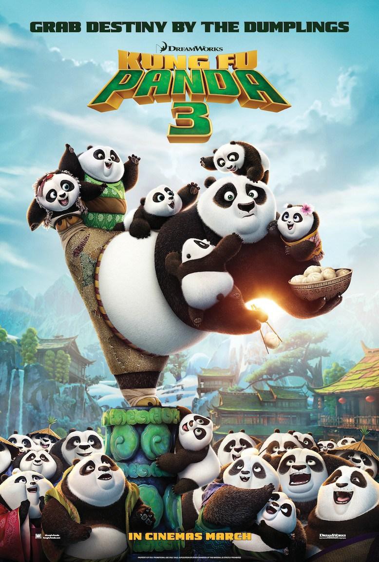 Kung Fu Panda 3 (2016; animated)