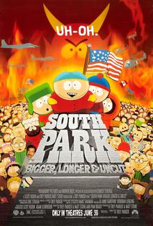 South Park: Bigger, Longer & Uncut (1999; animated)