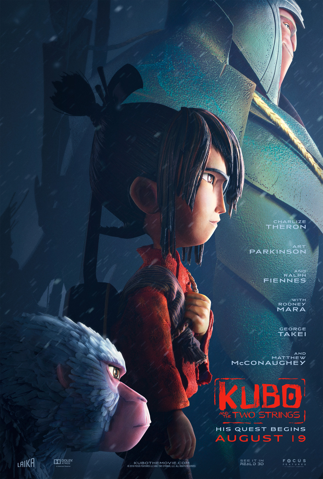 Kubo and the Two Strings (2016; animated)
