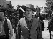 Martin Landau just before his death in Gunsmoke-The Patsy