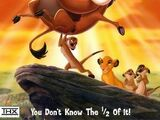 The Lion King 1 1/2 (2004; animated)