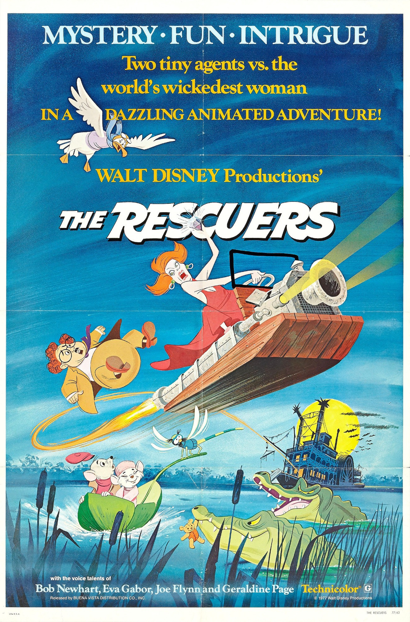The Rescuers (1977; animated)
